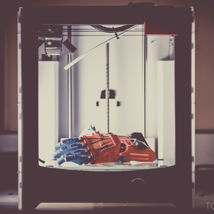 e-NABLING THE FUTURE : JON SCHULL : RIT : 3-D PRINTERS OF PROSTHETICS FOR CHILDREN