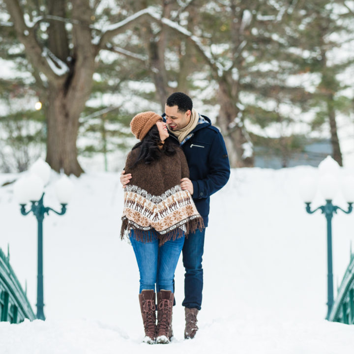 ALBANY NY ENGAGEMENT PHOTOGRAPHY : WINTER ENGAGEMENT PHOTOS : ANGIE + RALPH