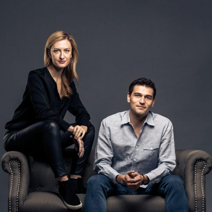 Editorial Photography : Token Ring : Tokenize : Technology Entrepreneurs Melanie Shapiro + Steve Shapiro : tomas flint
