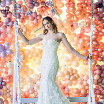 BRIDAL FASHION PHOTOGRAPHY : SILK BRIDAL BOUTIQUE : BRIDE INSPO FEATURING MARCHESA, CANDACE KENDALL