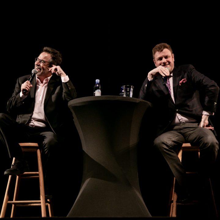 Dennis Miller + Mark Steyn LIVE : Adorable Deplorable Tour 2019 : Concert Photography : Kodak Center - Rochester, NY : tomas flint