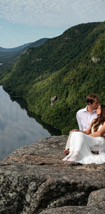 Adirondack Wedding and Elopement Photography : Lake Placid Wedding Photography : Indian Head Engagement : Katherine + Roy by tomas flint
