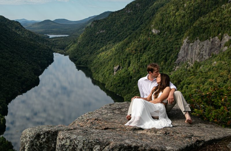 Adirondack Wedding and Elopement Photography : Lake Placid Wedding Photography : Indian Head Engagement : Katherine + Roy by tomas flint