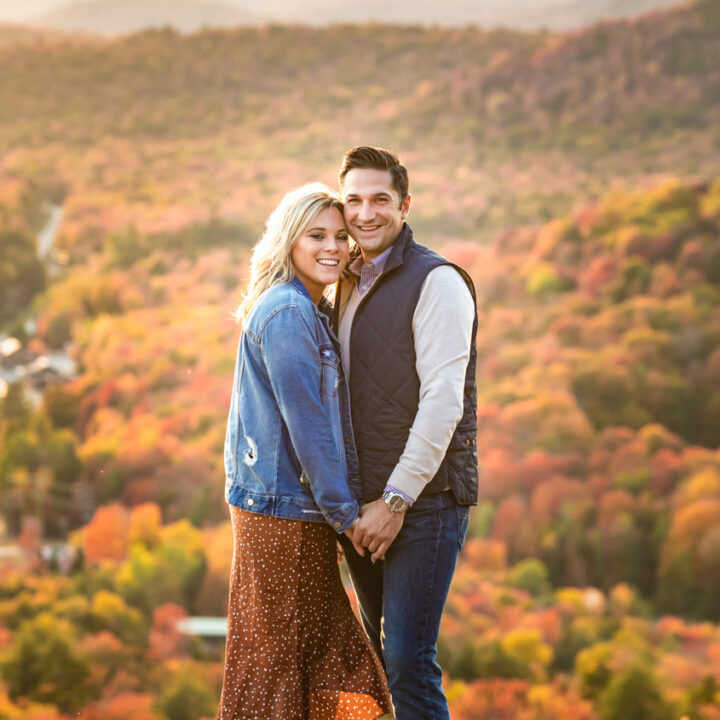 Adirondack Mountains Engagement Photography : Fall Foliage Engagement Photos : Wedding Photography by tomas flint