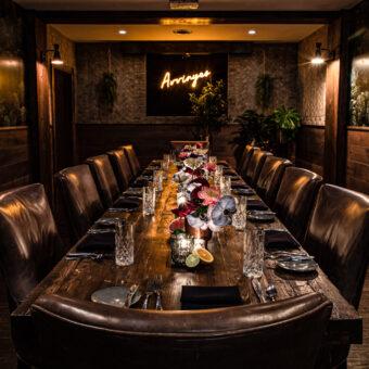 Avvino Restaurant : Rochester Restaurant Photography : Interior Design Photography by tomas flint