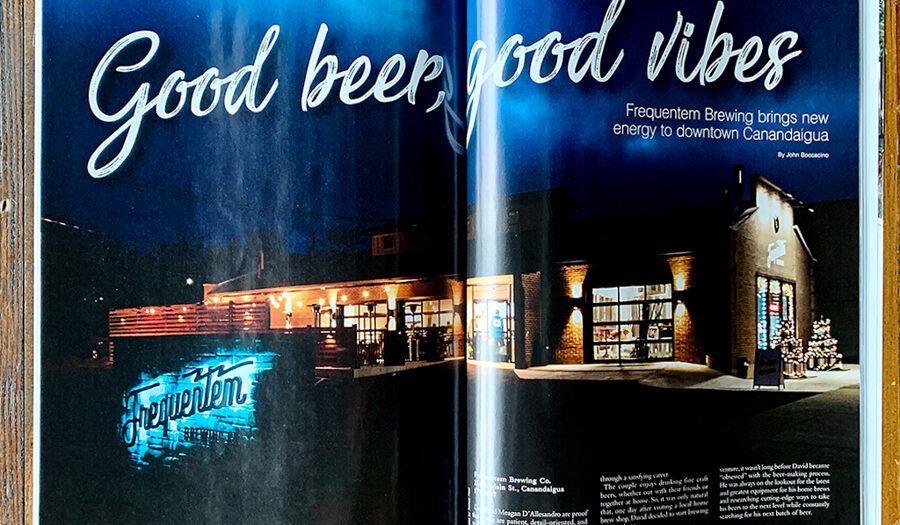 Finger Lakes Brewery Photography : Frequentum Brewery : Canandaigua NY Food + Beverage Photography : Editorial Photography by tomas flint
